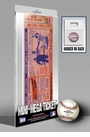 1957 MLB All-Star Game Mini-Mega Ticket - St Louis Cardinals