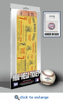 1960 World Series Mini-Mega Ticket - Pittsburgh Pirates
