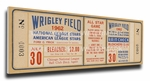 1962b MLB All-Star Game Canvas Mega Ticket, Cubs Host - MVP Leon Wagner, Angels