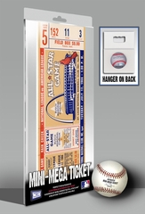 1966 MLB All-Star Game Mini-Mega Ticket - St Louis Cardinals - MVP Brooks Robinson