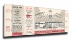 1967 MLB All-Star Game Canvas Mega Ticket, Angels Host - MVP Tony Perez, Reds