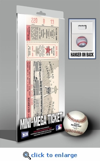 1967 MLB All-Star Game Mini-Mega Ticket, Angels Host - MVP Tony P�rez, Reds