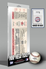 1967 MLB All-Star Game Mini-Mega Ticket - California Angels - MVP Tony P�rez