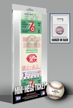 1976 World Series Mini-Mega Ticket - Cincinnati Reds