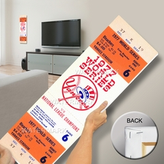1977 World Series Mega Ticket - New York Yankees