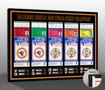 1983 World Series Tickets to History Canvas Print - Baltimore Orioles
