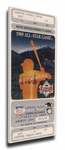 1989 MLB All-Star Game Canvas Mega Ticket, Angels Host - MVP Bo Jackson, Royals