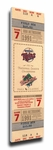 1991 World Series Canvas Mega Ticket - Minnesota Twins