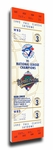 1992 World Series Canvas Mega Ticket - Toronto Blue Jays