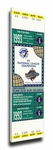 1993 World Series Canvas Mega Ticket - Toronto Blue Jays