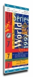 1997 World Series Canvas Mega Ticket - Florida Marlins