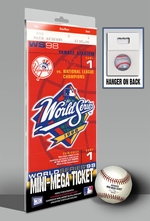 1998 World Series Mini-Mega Ticket - New York Yankees