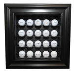 20 Golf Ball Wall Mount Display Case