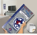 2000 NHL All-Star Game Mega Ticket, Maple Leafs Host - MVP Bure