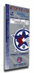 2000 NHL All-Star Game Canvas Mega Ticket, Maple Leafs Host - MVP Bure