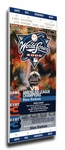 2000 World Series Canvas Mega Ticket - New York Mets (Subway Series)