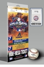 2001 World Series Mini-Mega Ticket - Arizona Diamondbacks