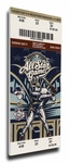 2002 MLB All-Star Game Canvas Mega Ticket, Brewers Host - MVP Miller Park