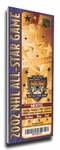 2002 NHL All-Star Game Canvas Mega Ticket, Kings Host - MVP Daze