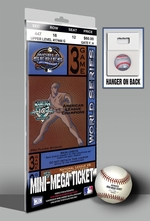 2003 World Series Mini-Mega Ticket - Florida Marlins