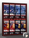 2004 & 2007 World Series Tickets to History Canvas Print - Boston Red Sox