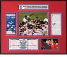 2004 World Series Ticket Frame - Red Sox