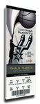 2005 NBA Finals Canvas Mega Ticket - San Antonio Spurs