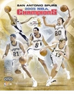 2005 NBA Finals San Antonio Spurs Team Collage 8x10 Photo