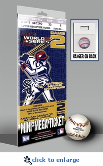 2005 World Series Mini-Mega Ticket - Chicago White Sox