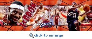 2006 Lebron James Photoramic - Cavaliers