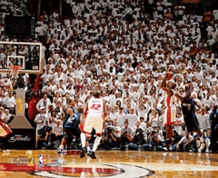 2006 NBA Finals Miami Heat Game 3 Gary Payton Game-Winning Shot  8x10 Photo