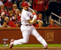 2006 NLCS Champion St Louis Cardinals Albert Pujols Game 5 8x10 Photo