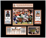 2007 MLB All-Star Game Ticket Frame - San Francisco Giants