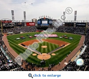 2007 Opening Day U.S. Cellular Field 8x10 Photo