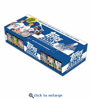 2007 Topps MLB Factory Team Sets - Dodgers