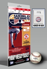 2007 World Series Mini-Mega Ticket - Boston Red Sox