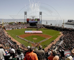 2008 AT&T Park Opening Day 8x10 Photo - San Fransisco Giants