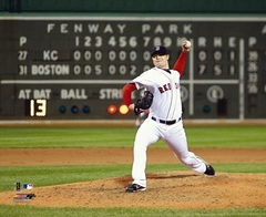 2008 Jon Lester No Hitter Red Sox 8x10 Photo