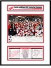 2008 Stanley Cup Champions Frame - Detroit Red Wings