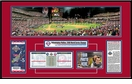 2008 World Series Mini Panoramic Ticket Frame - Phillies