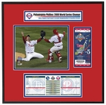 2008 World Series Replica Ticket Frame  - Phillies