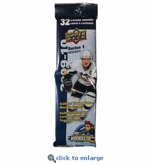2009/10 Upper Deck 1 NHL Fat Packs
