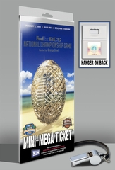 2009 BCS Championship Mini-Mega Ticket - Florida Gators