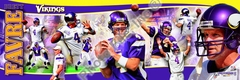 2009 Brett Favre Photoramic - Vikings
