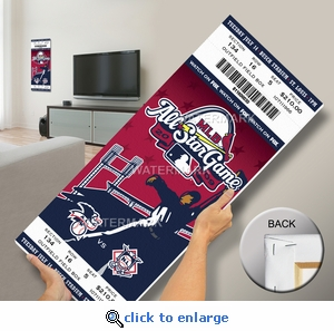 2009 MLB All-Star Game Mega Ticket, Cardinals Host - MVP Carl Crawford, Rays