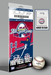 2009 MLB All-Star Game Mini-Mega Ticket - St Louis Cardinals - MVP Carl Crawford