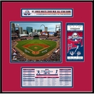 2009 MLB All-Star Game Ticket Frame Jr - St Louis Cardinals