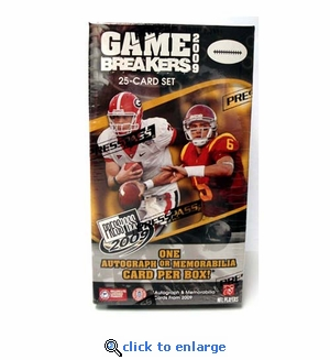 2009 Press Pass Football Blaster (12 Packs)