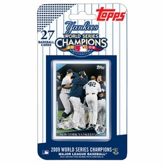 2009 Topps World Series Champions Set - New York Yankees (27 Cards)