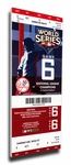 2009 World Series Canvas Mega Ticket - New York Yankees